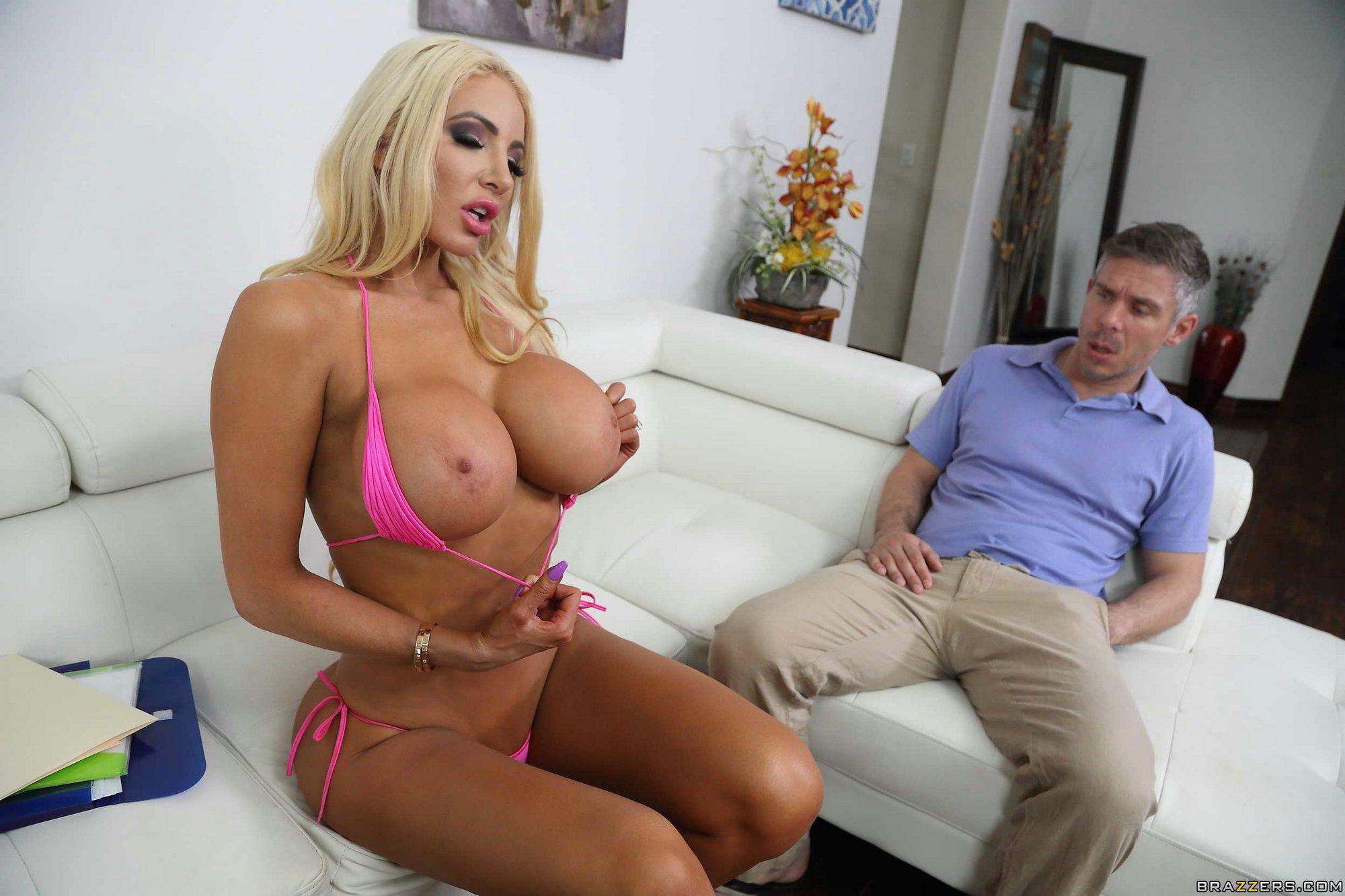 Big Busty Blonde Milf Bbw
