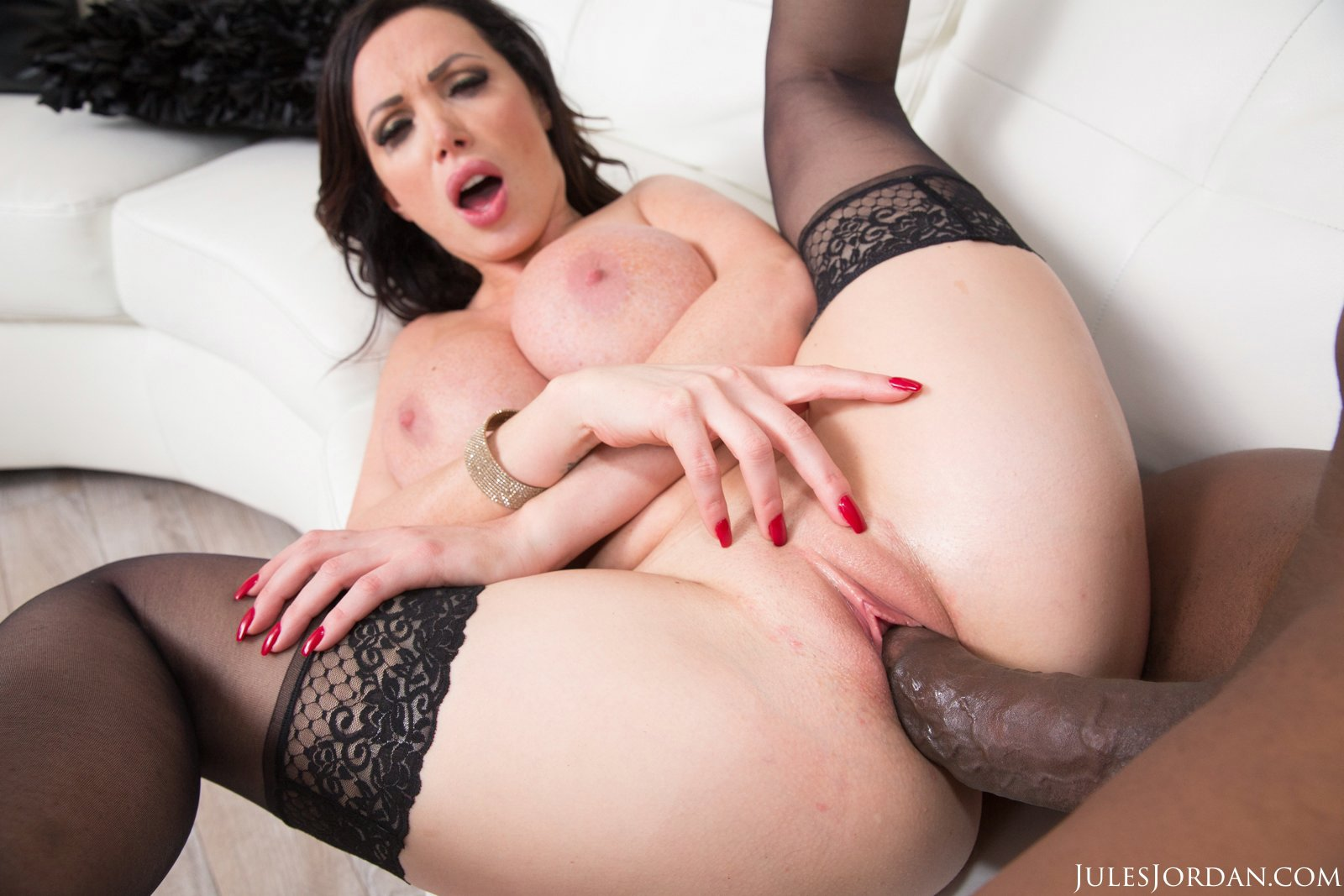 Pity, that In her hot pantyhose fucks cock are