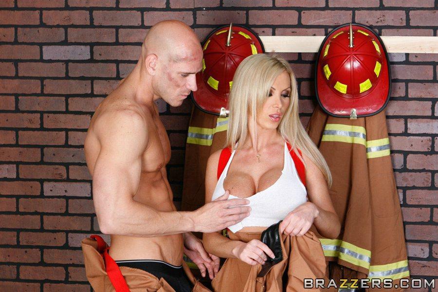 lesbian firefighter porn