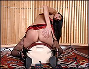 Broad stockings threesomes clips