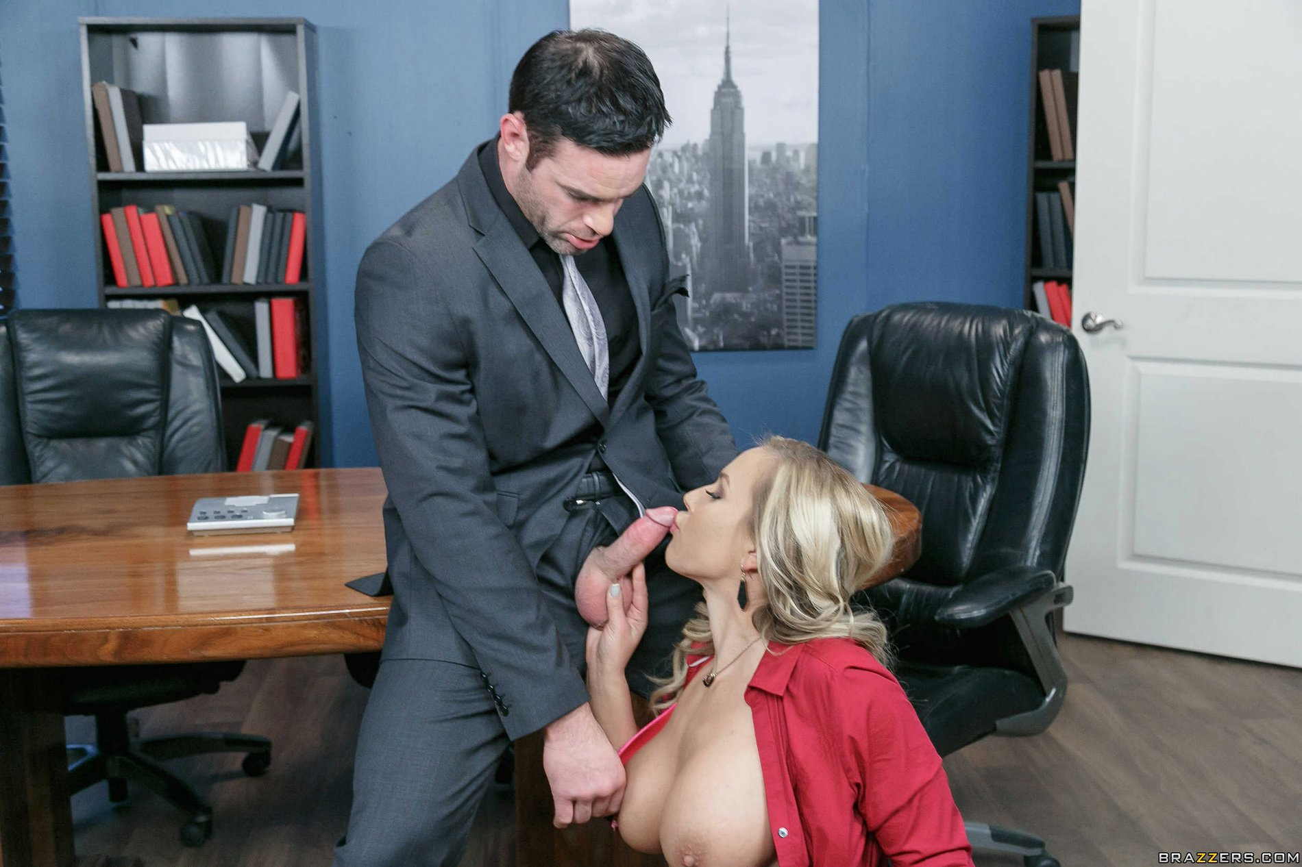 Amateur Wife On Business Trip With Her Boss