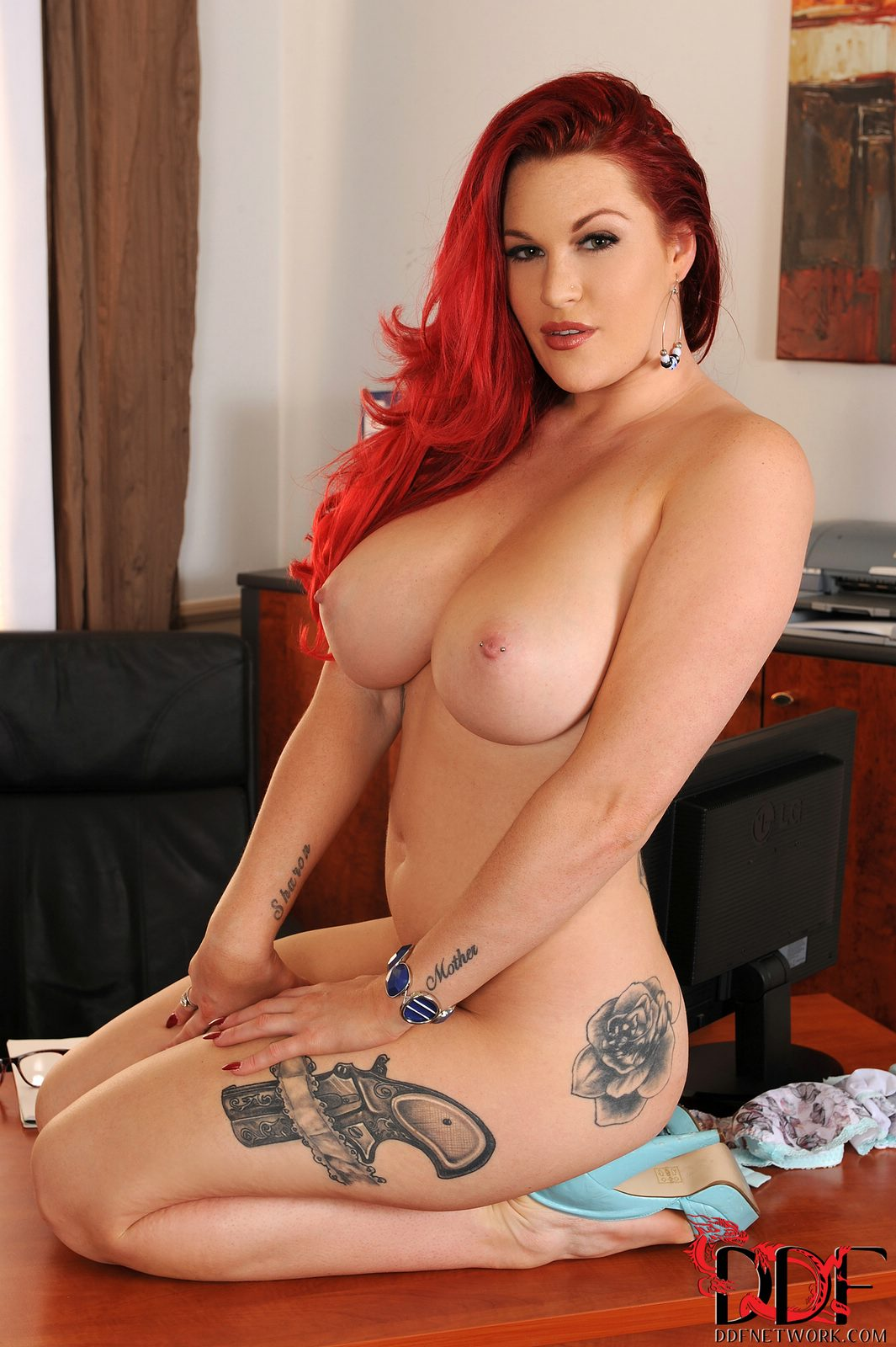 Donna red porn star