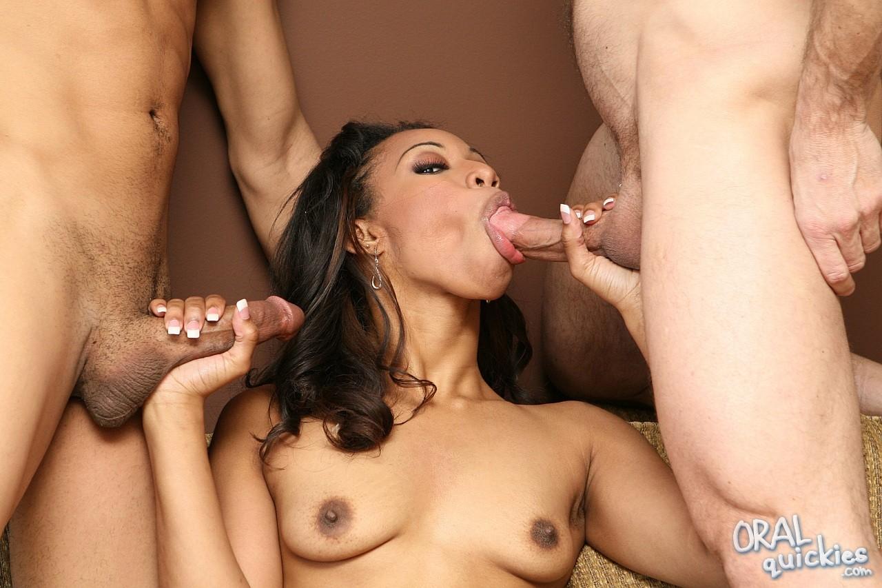 Ebony Sweet Sucking Pleasure