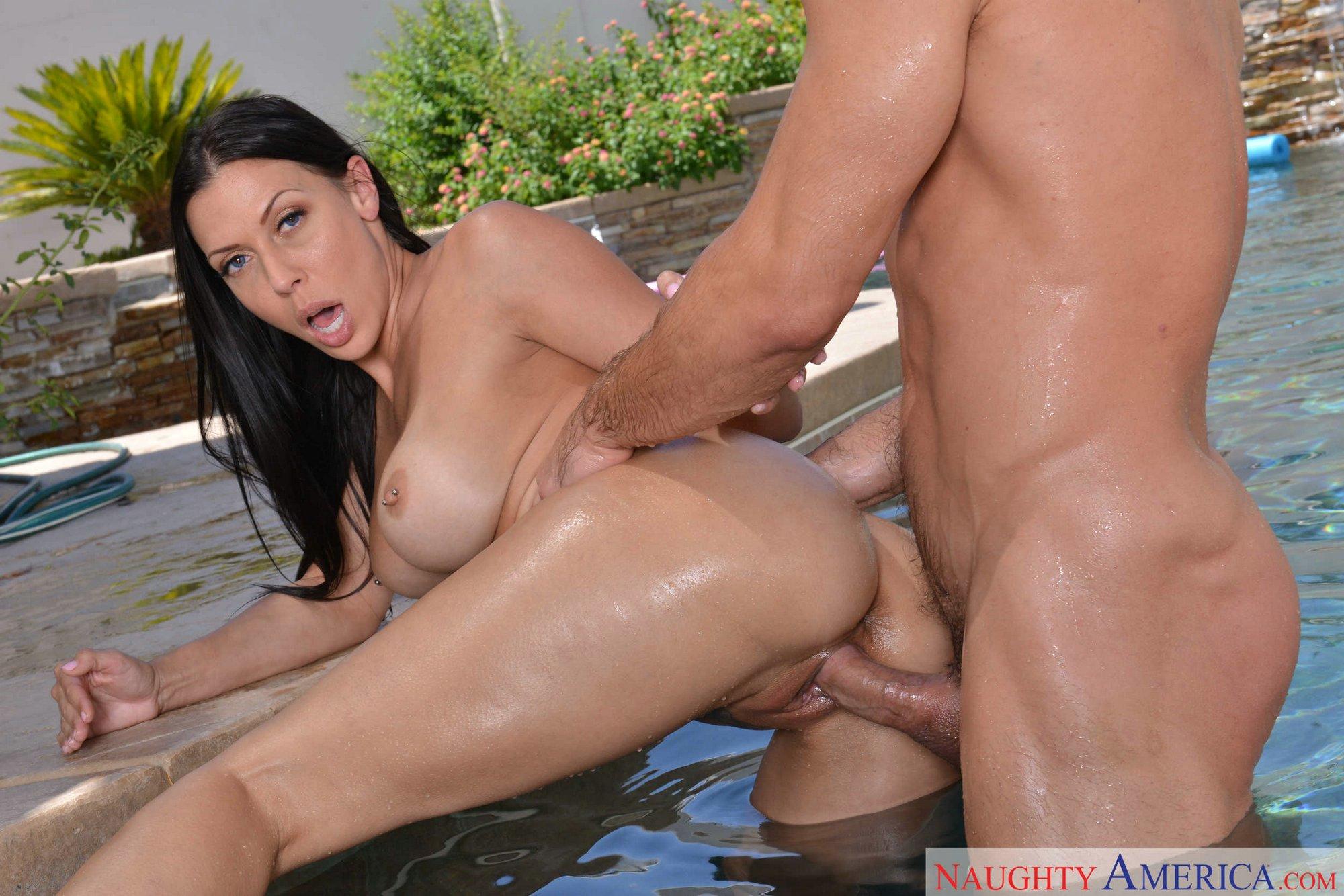 Rachel Starr Enjoying Hot Sex By The Pool - My Pornstar Book-6344