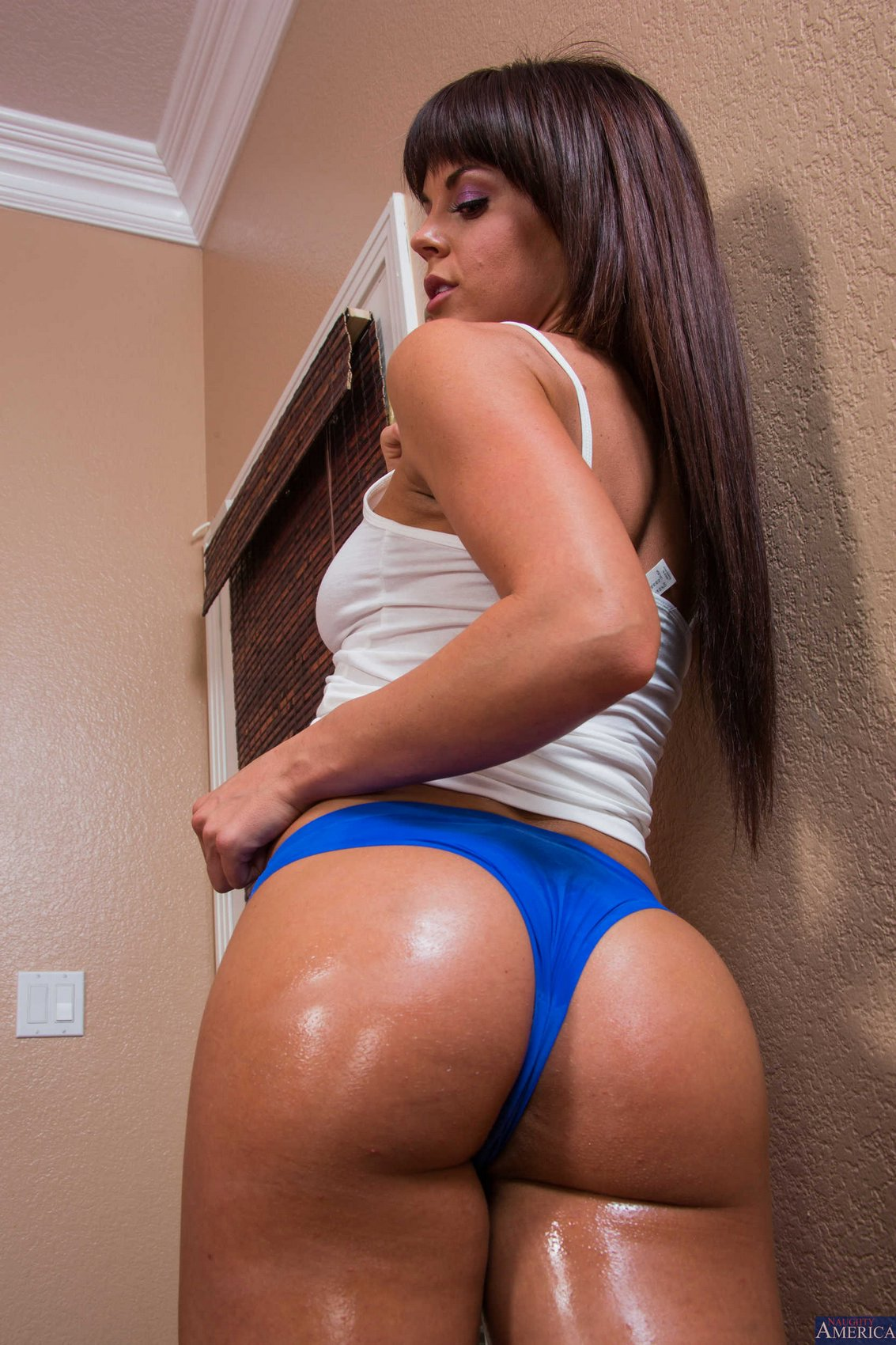 image Big oiled latina ass sofia char