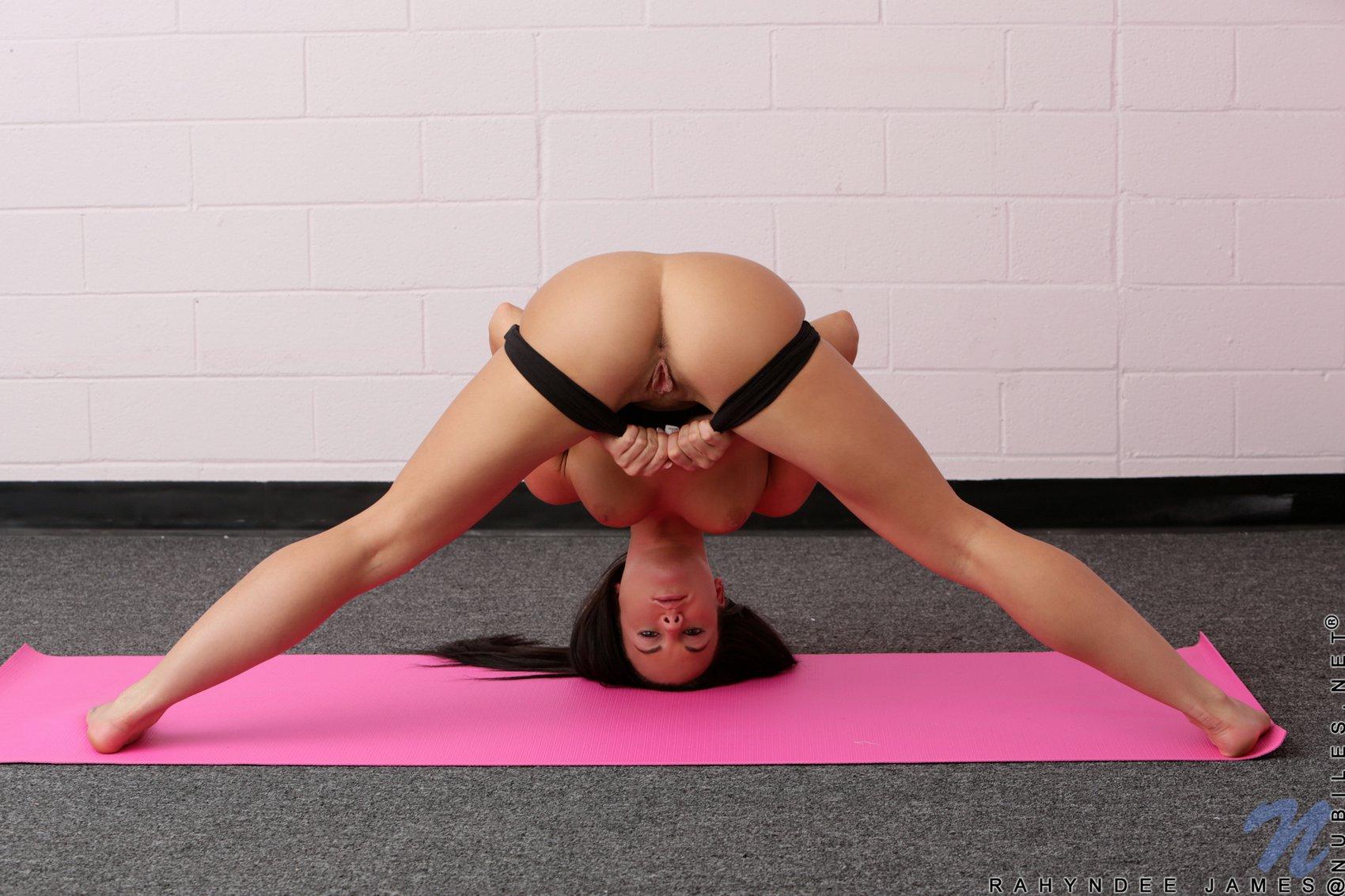 Hot yoga training with beautiful Rahyndee - My Pornstar Book