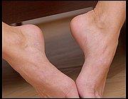 Foot leg milf