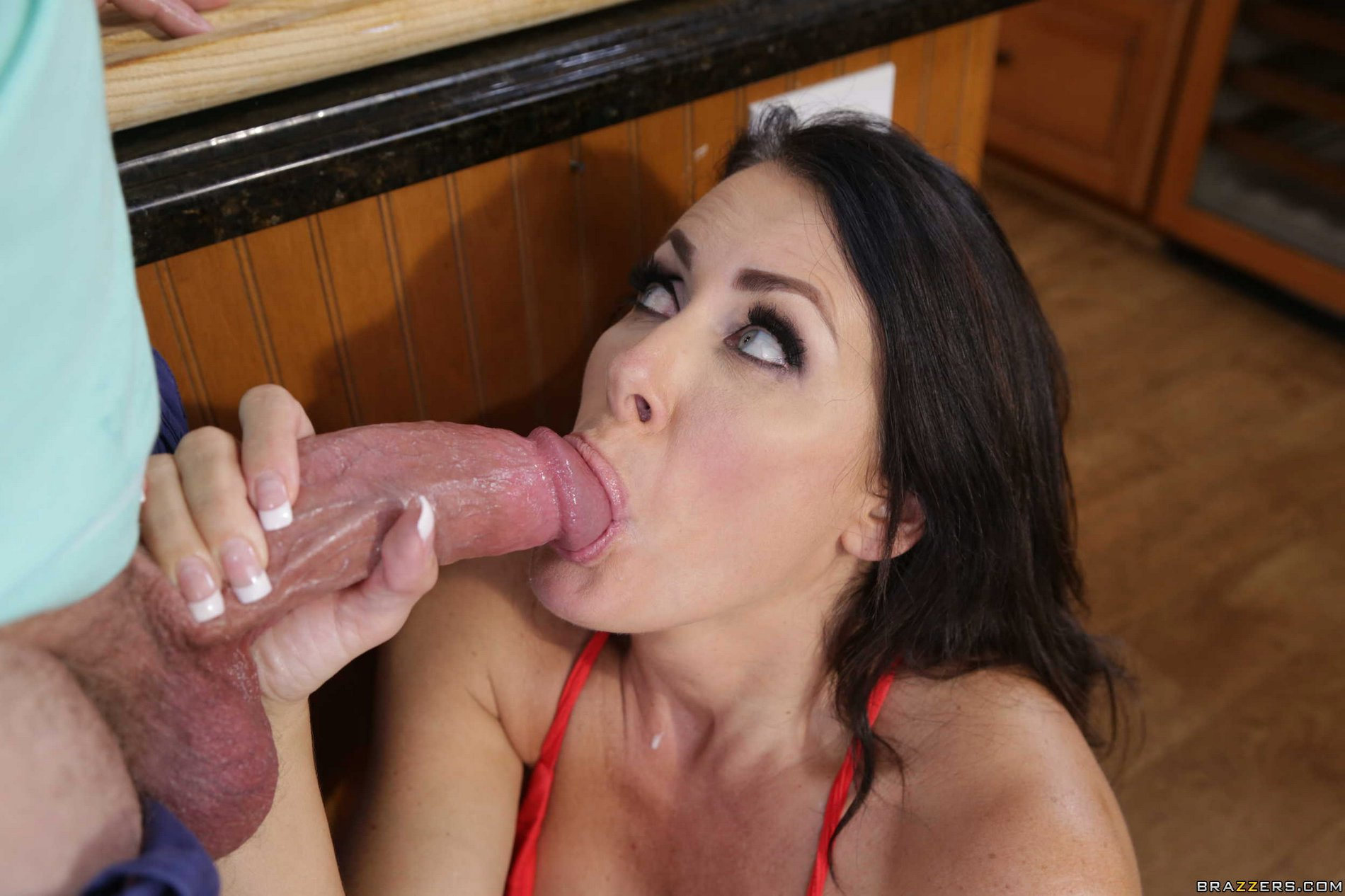 Milfs having sex with sons friend