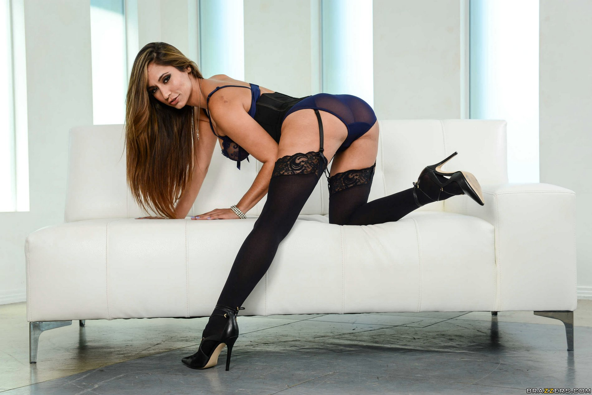 Nylons and highheels