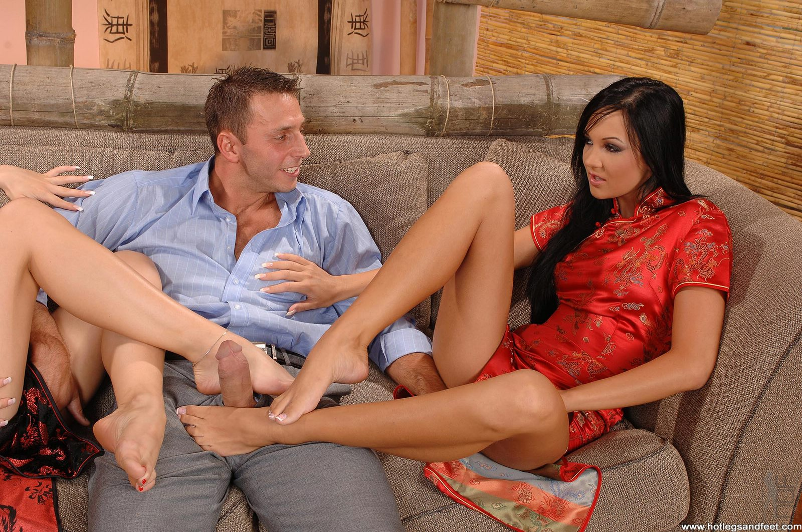 Regina moon foot fetish