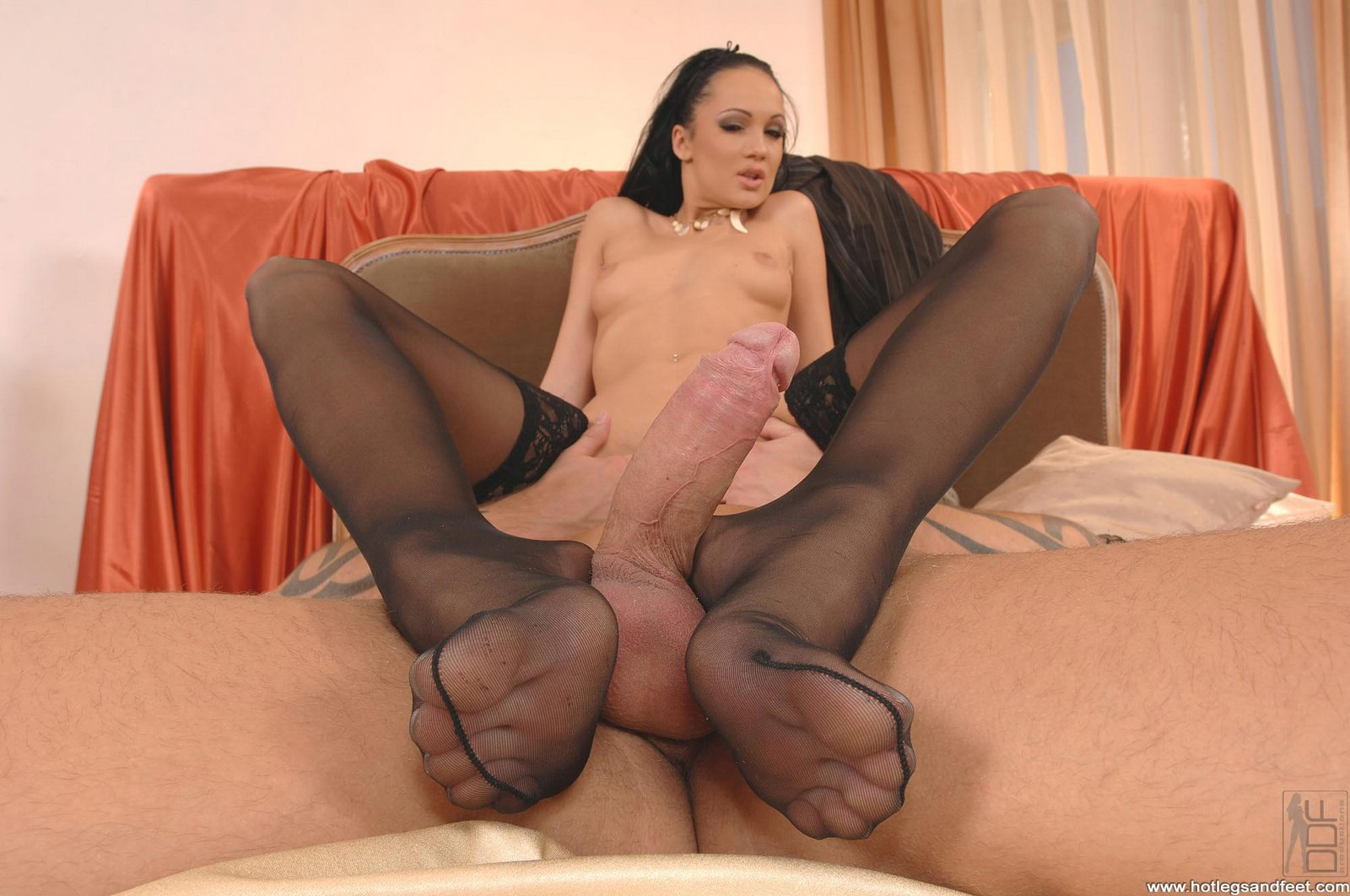 Bound stocking foot job #4