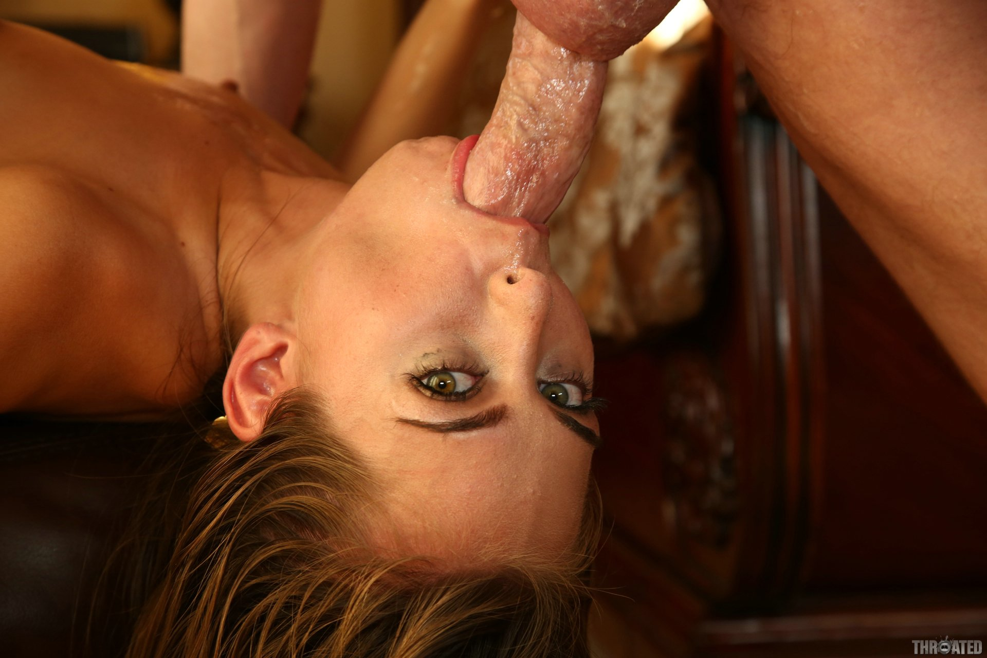 My Neighbor Gives Me A Non Stop Throatjob And Gets A Throbbing Oral Creampie