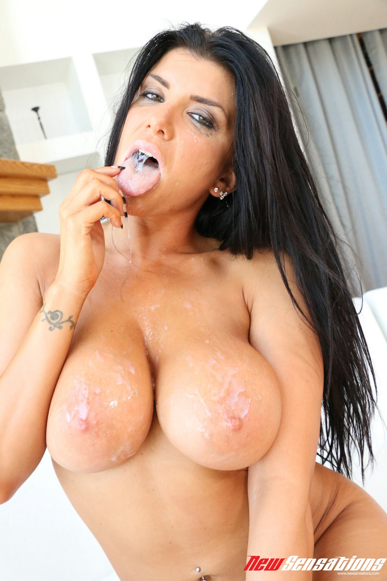 Milf romi rain gets creampied and fucked hard 9