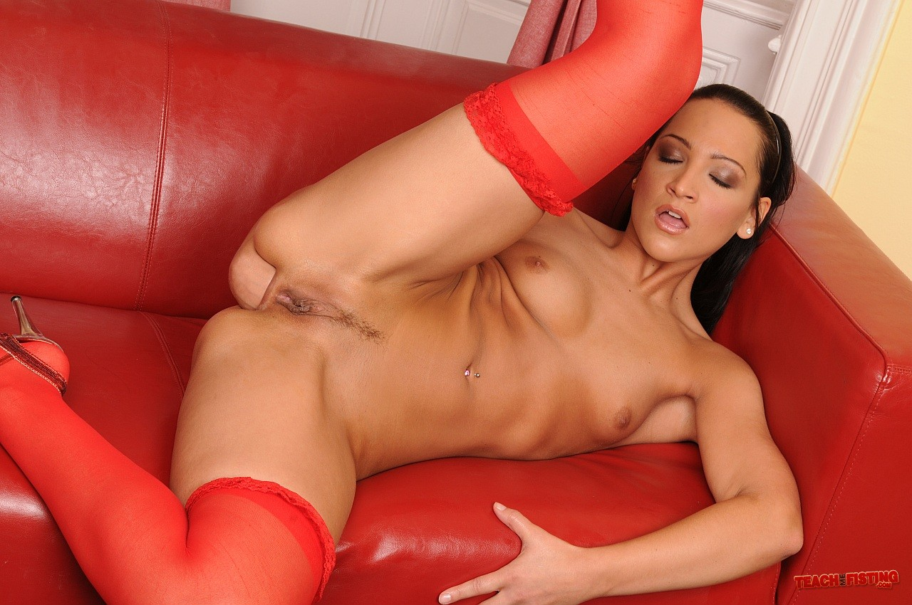 Think, that Sabrina sweet in pantyhose leg tease with you