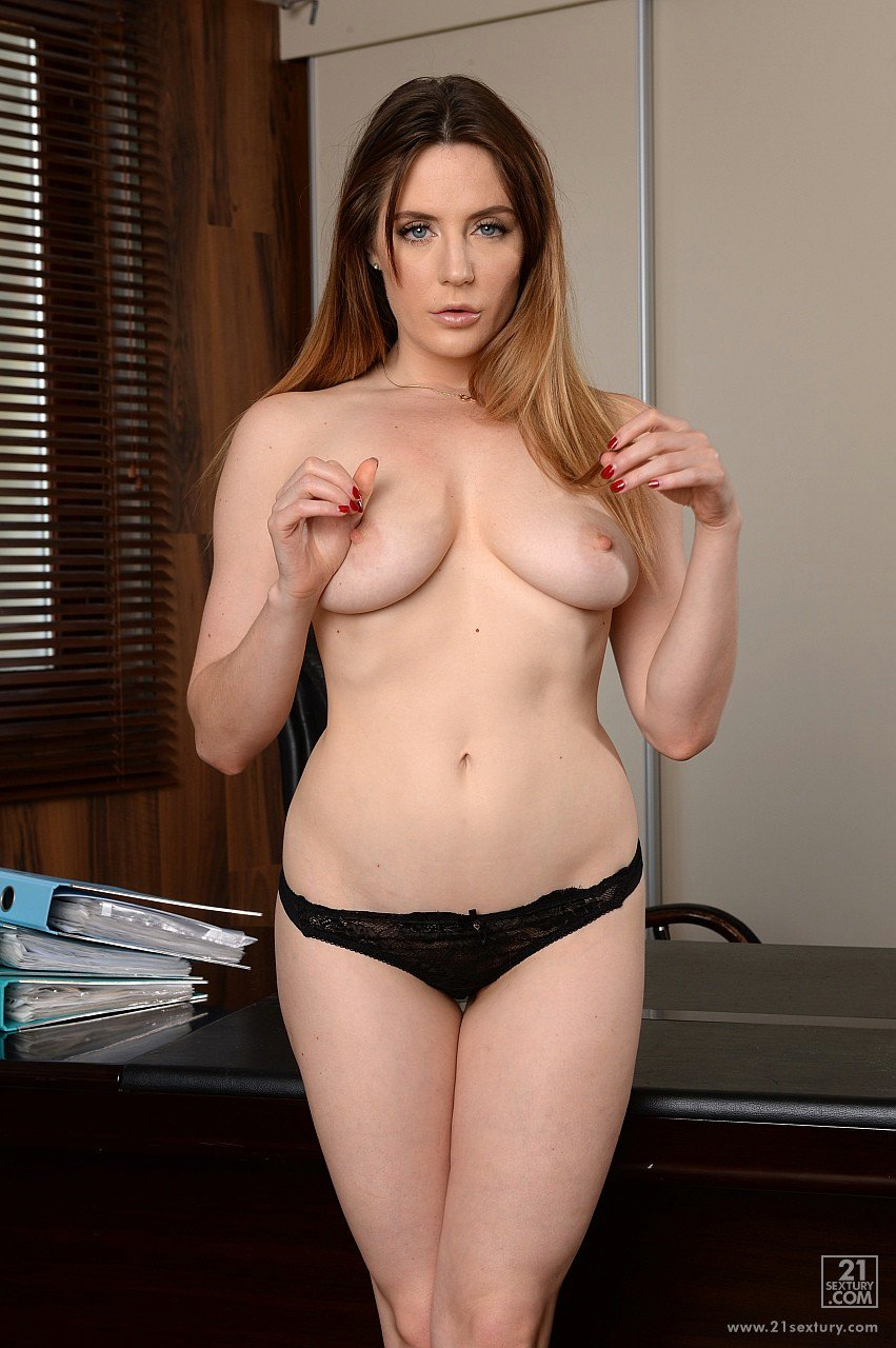 Sexy Lawyer Samantha Bentley Getting Fucked In The Office