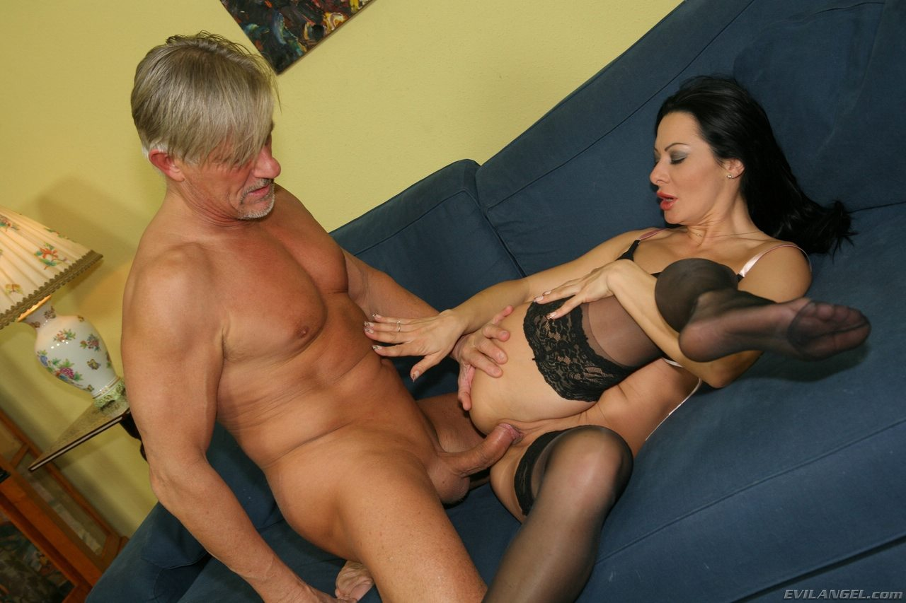 Anal sex with old man