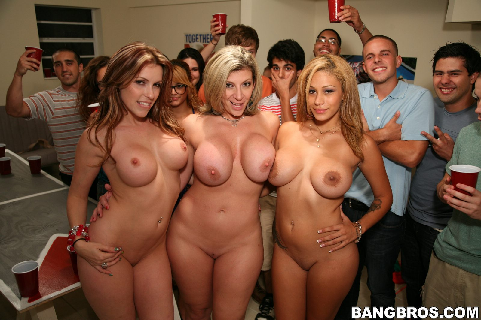 Porn star frat party