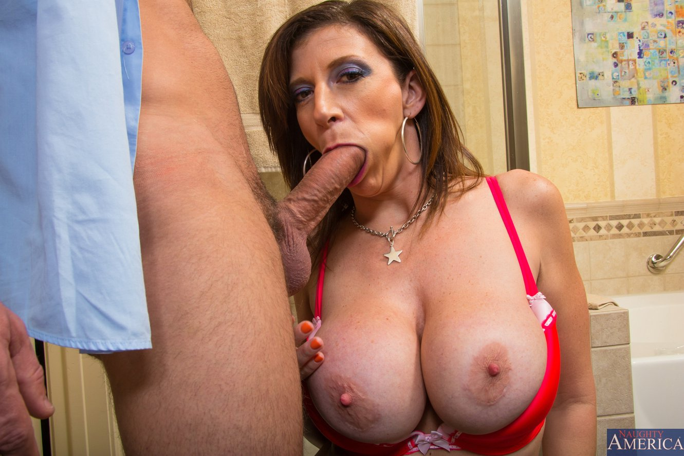 Moms with boys cock hungry busty mom sucking cock and fucked