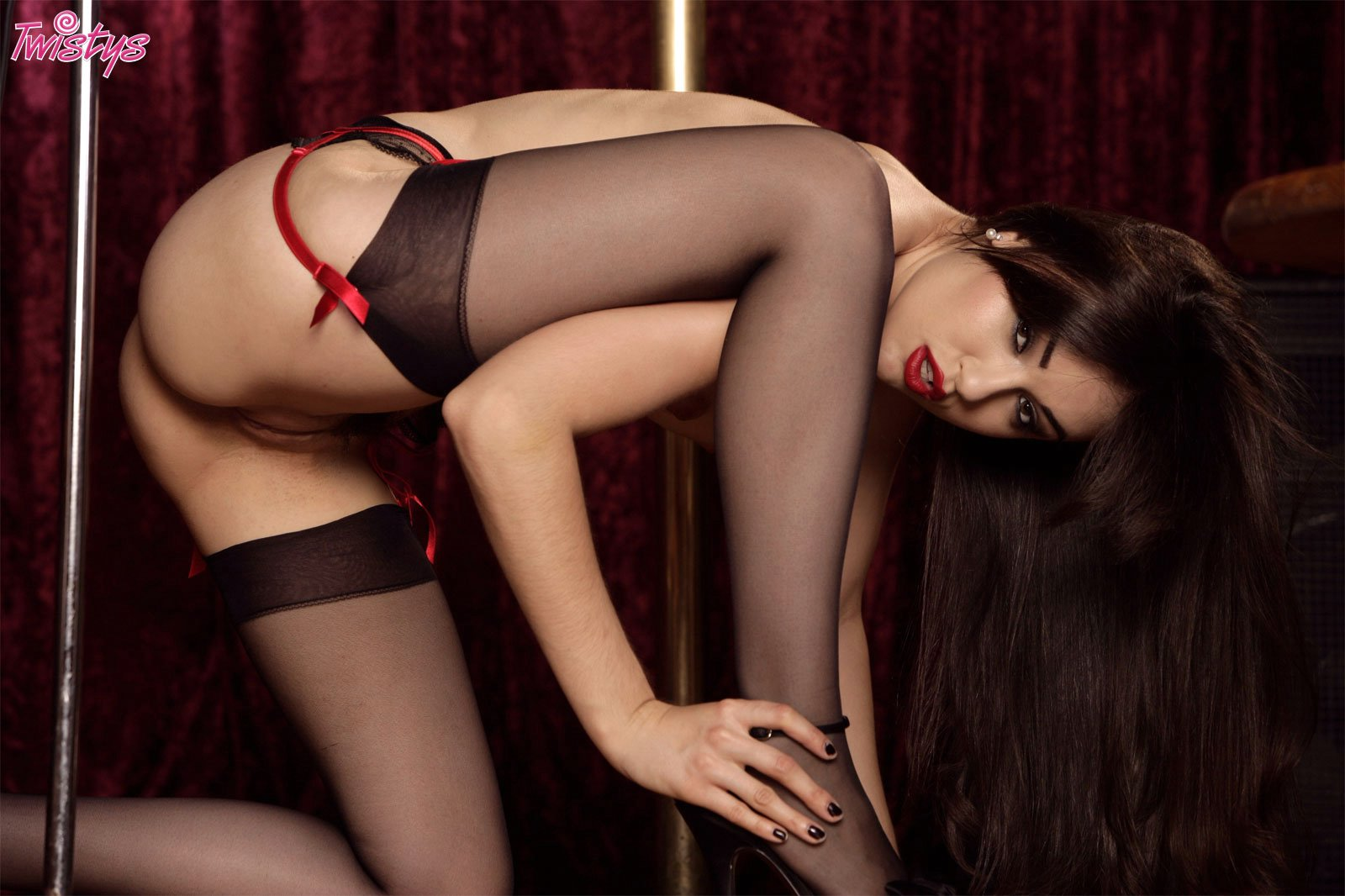 Sasha Grey In Stockings 62