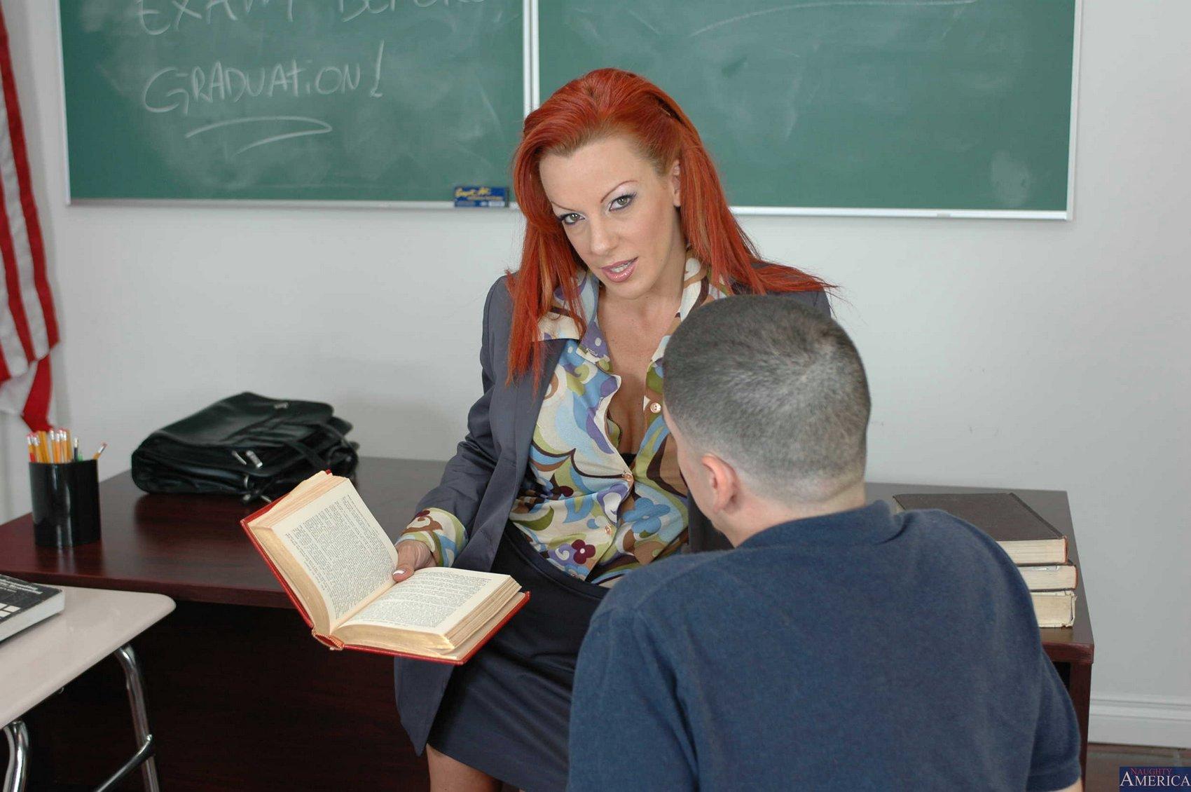 Lesbian Teacher Seducing Her Student