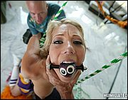Shawna Lenee getting tied up and fucked rough.