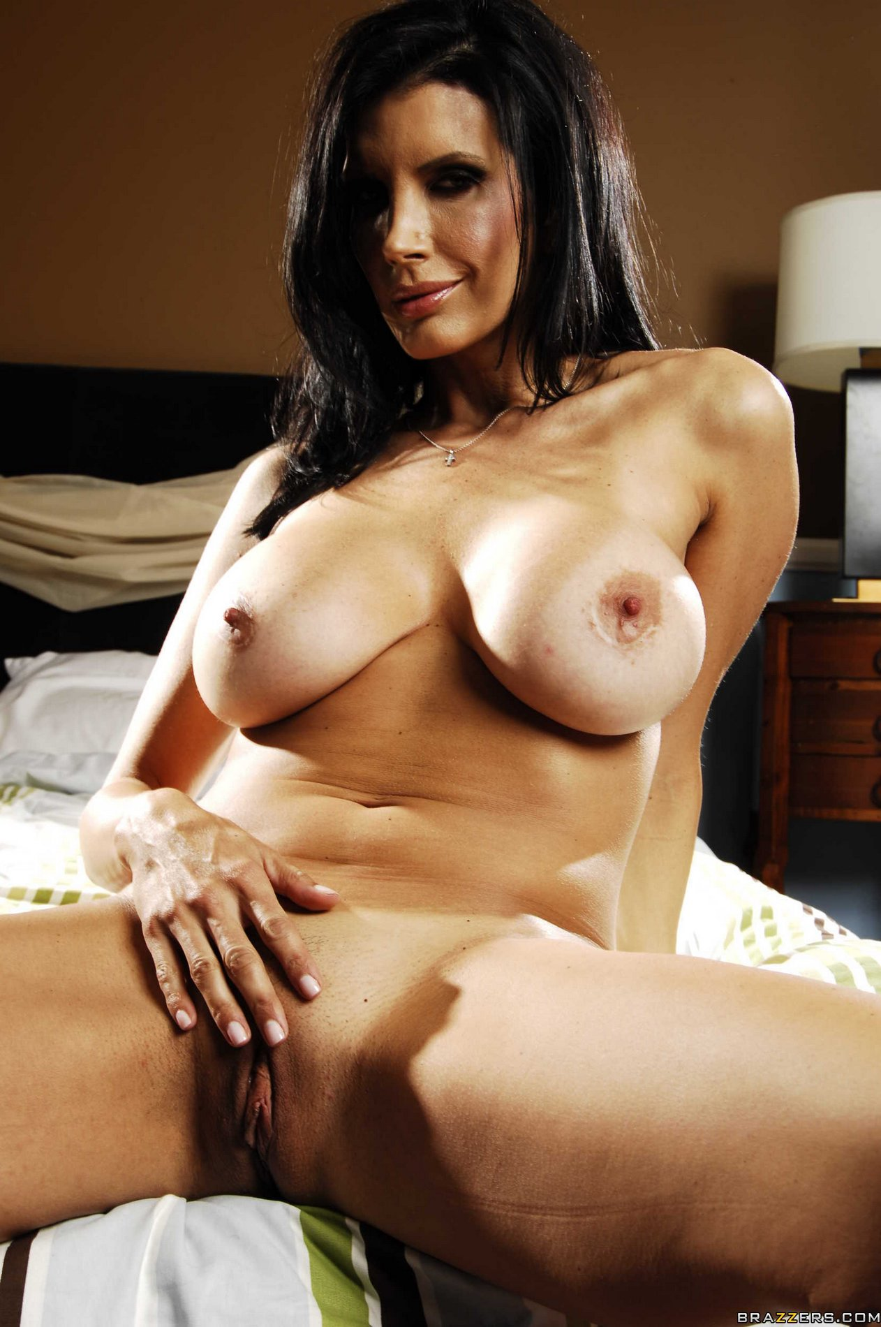 Shay Sights in jeans and heels strips for camera - My ...