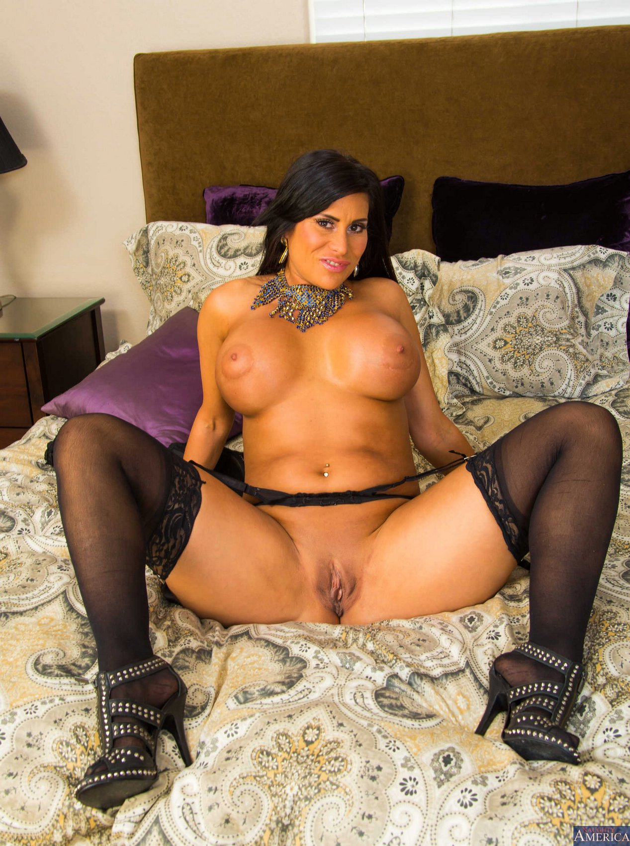 Marie black stockings sheila