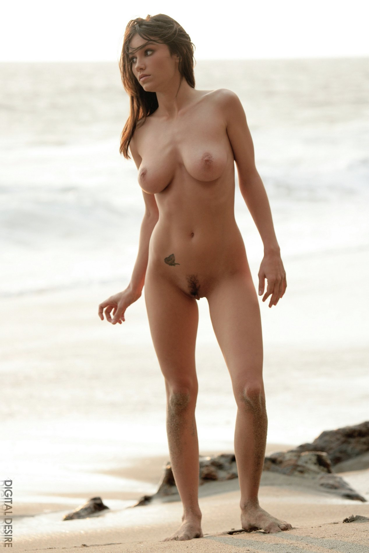 Sofia Webber Exhibits Her Body On The Beach - My Pornstar Book-6949
