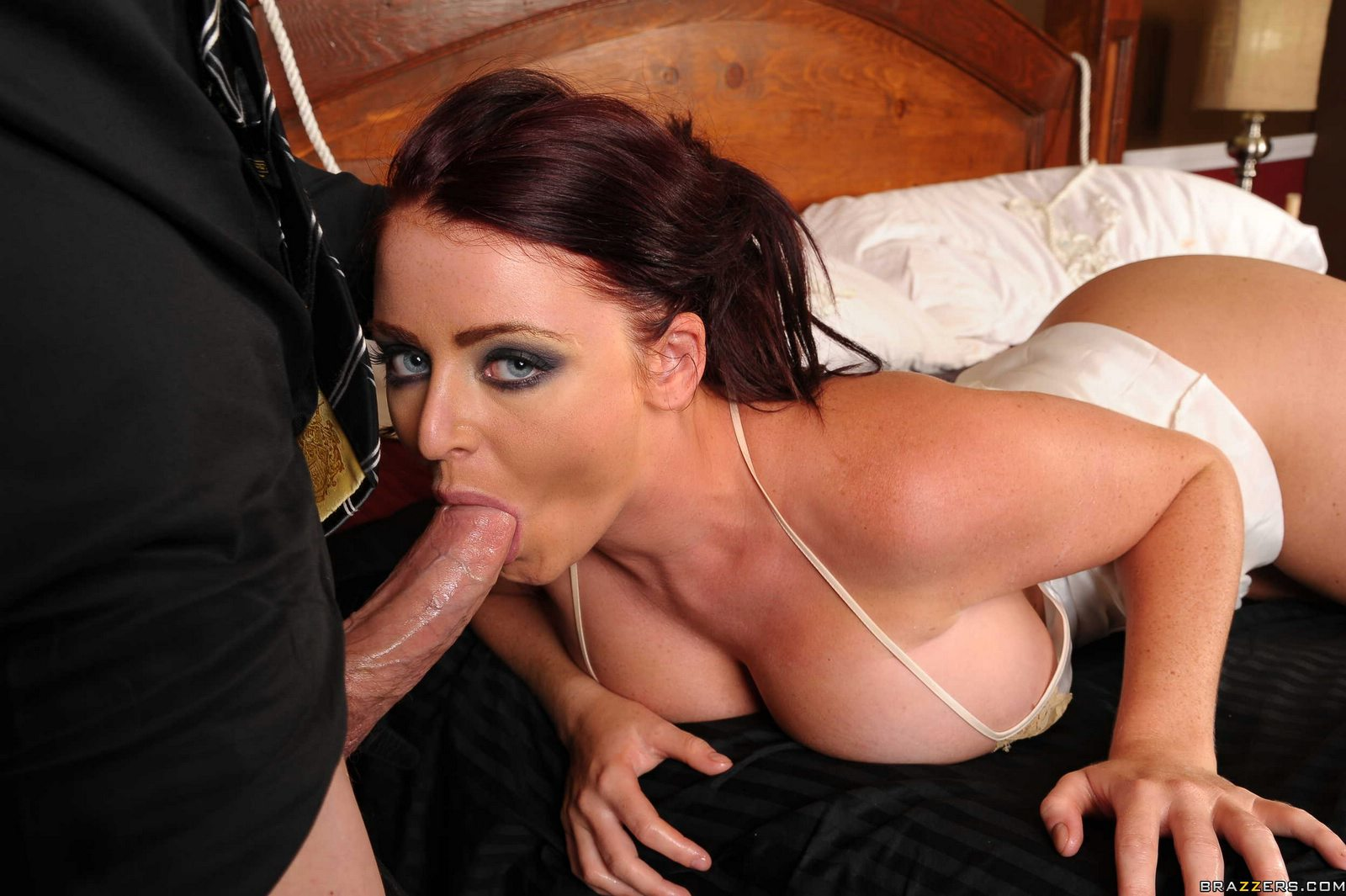 Sophie Dee Sucking Cock