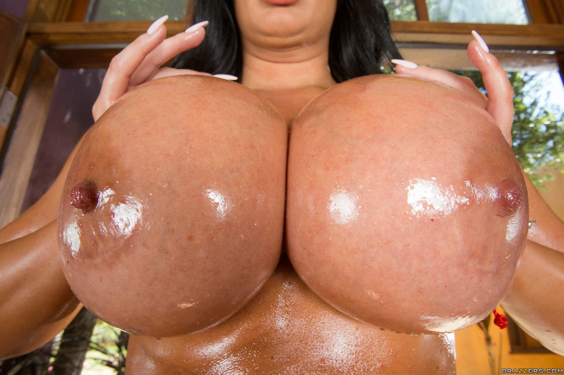Huge oiled boobs and ass porn consider, that