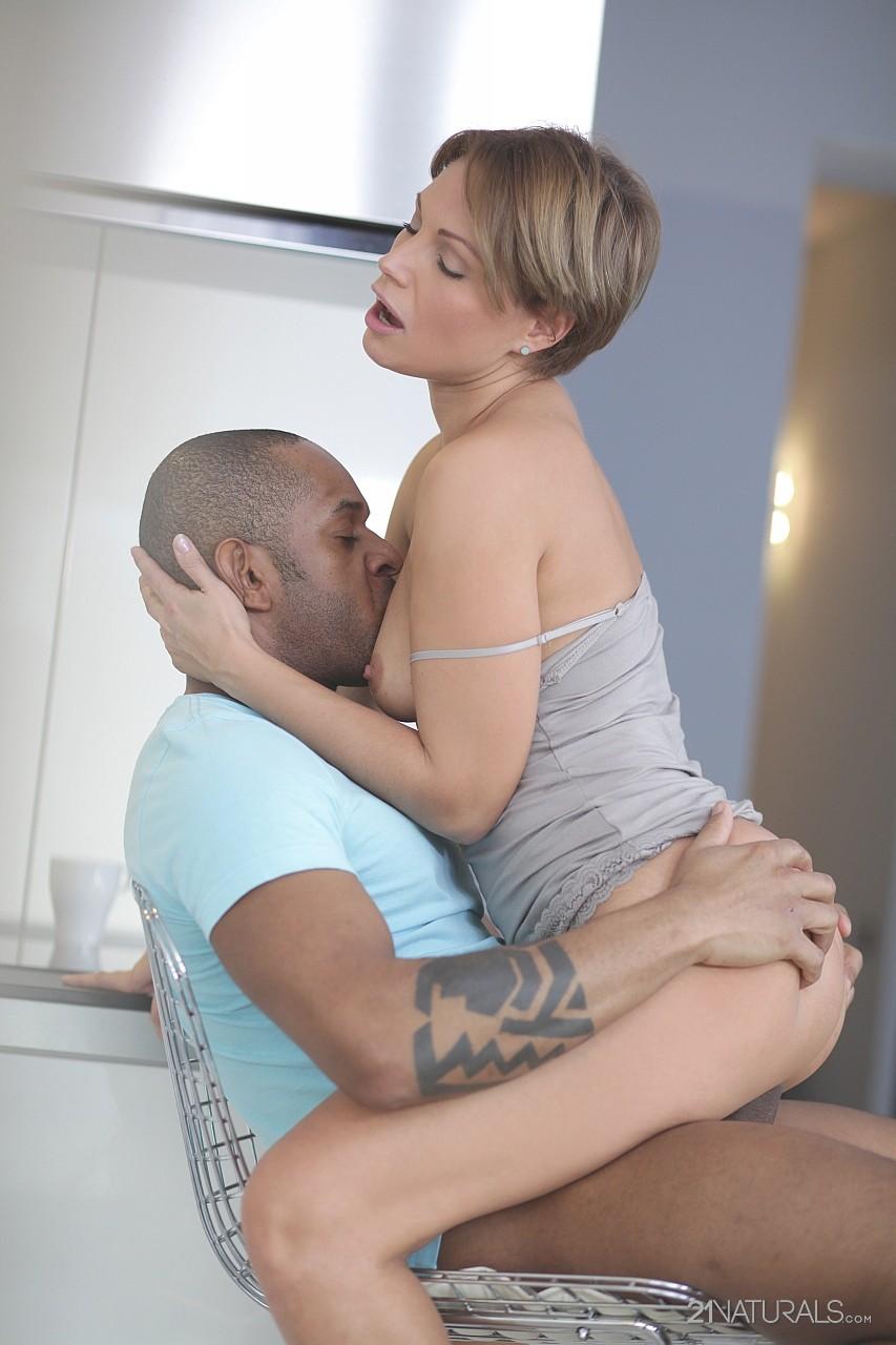 Lauren wife loves black nude