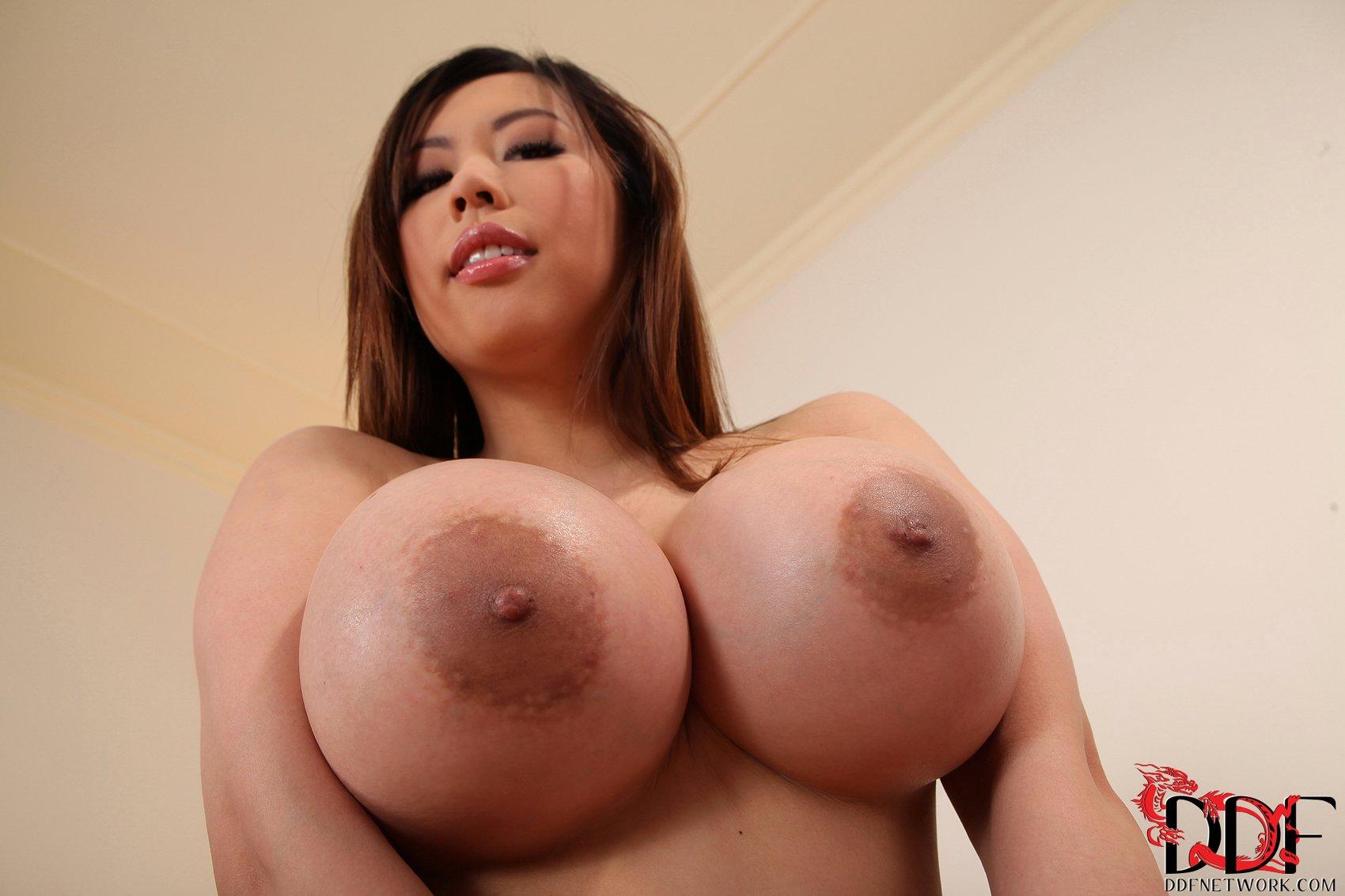 Black areola tits