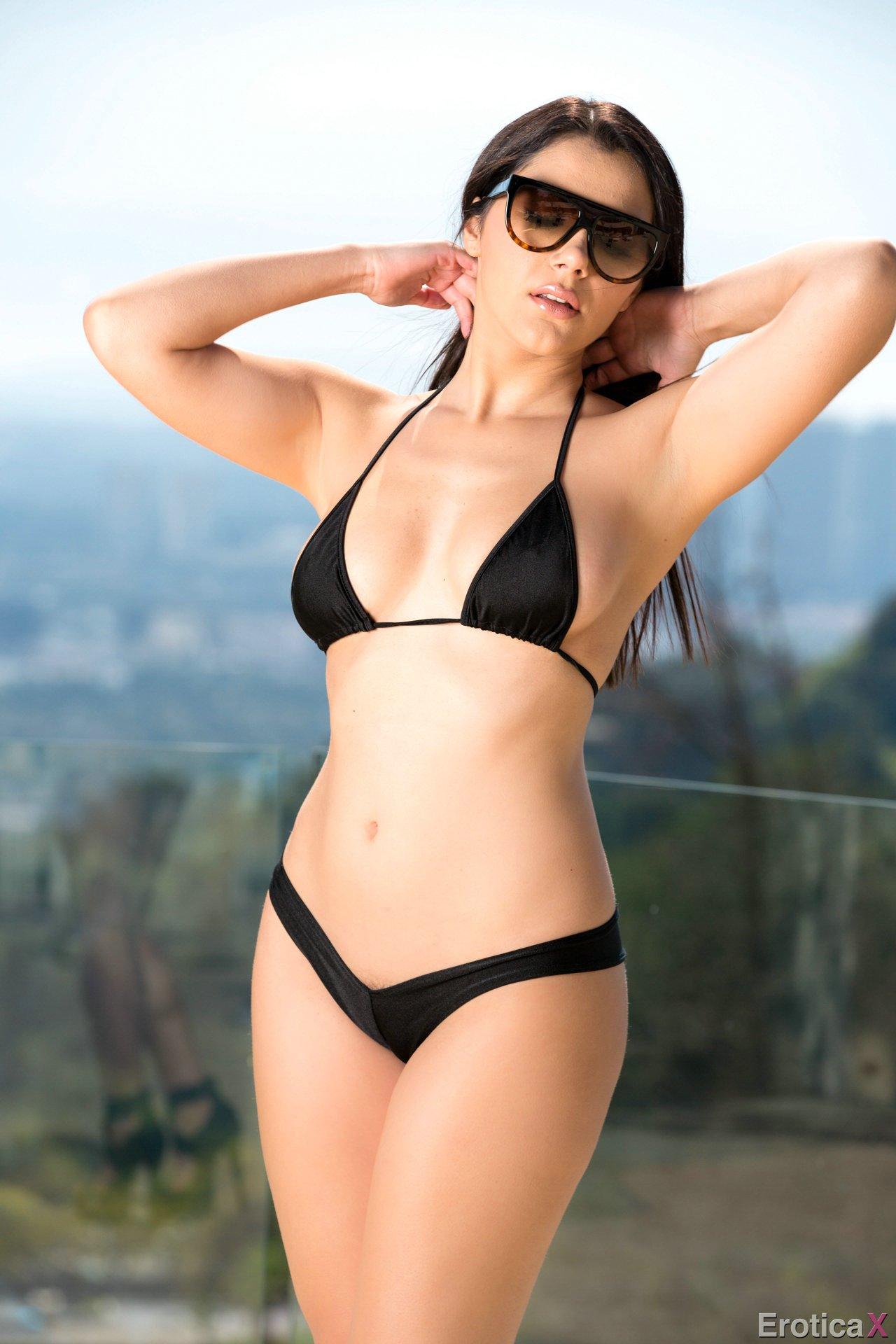 Valentina Nappi Takes Off Her Black Bikini - My Pornstar Book-3916