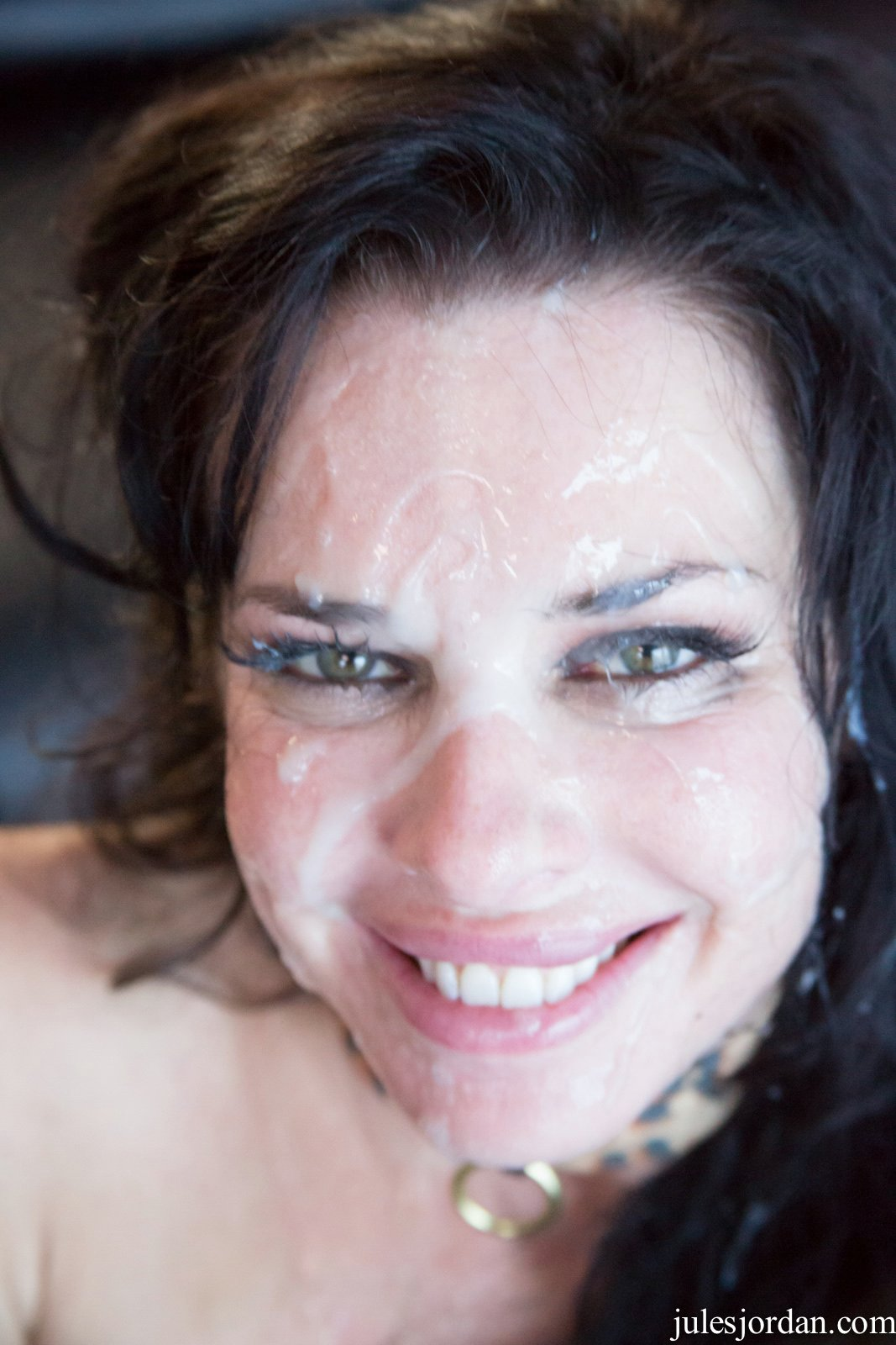 Veronica Avluv gets fucked by black guy and takes cum on ...