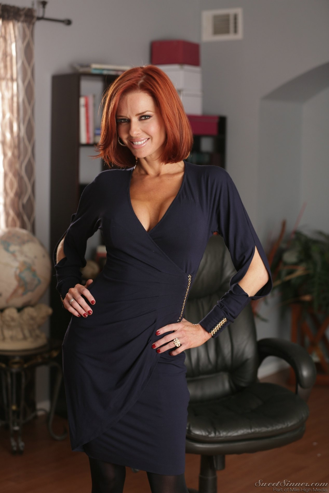 Seduction Hot Redhead Milf Seduces One Of Her Sons Friends And They Have Rough