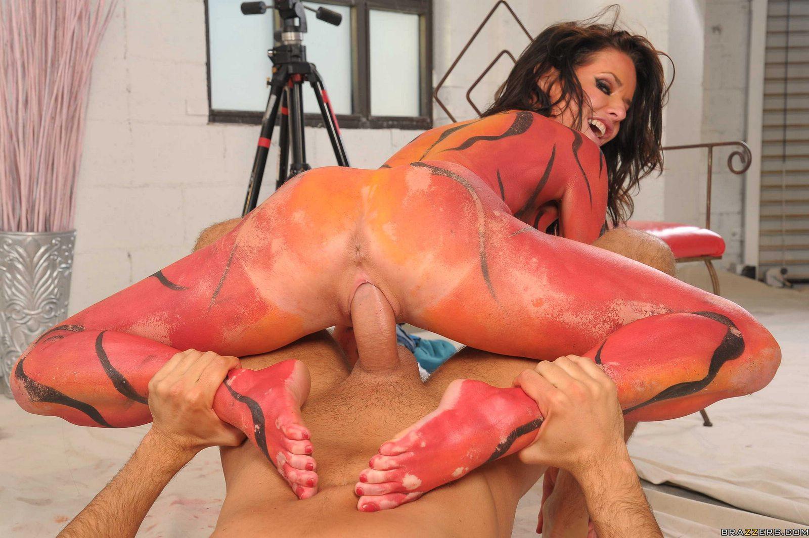 inserting vegetable in anus