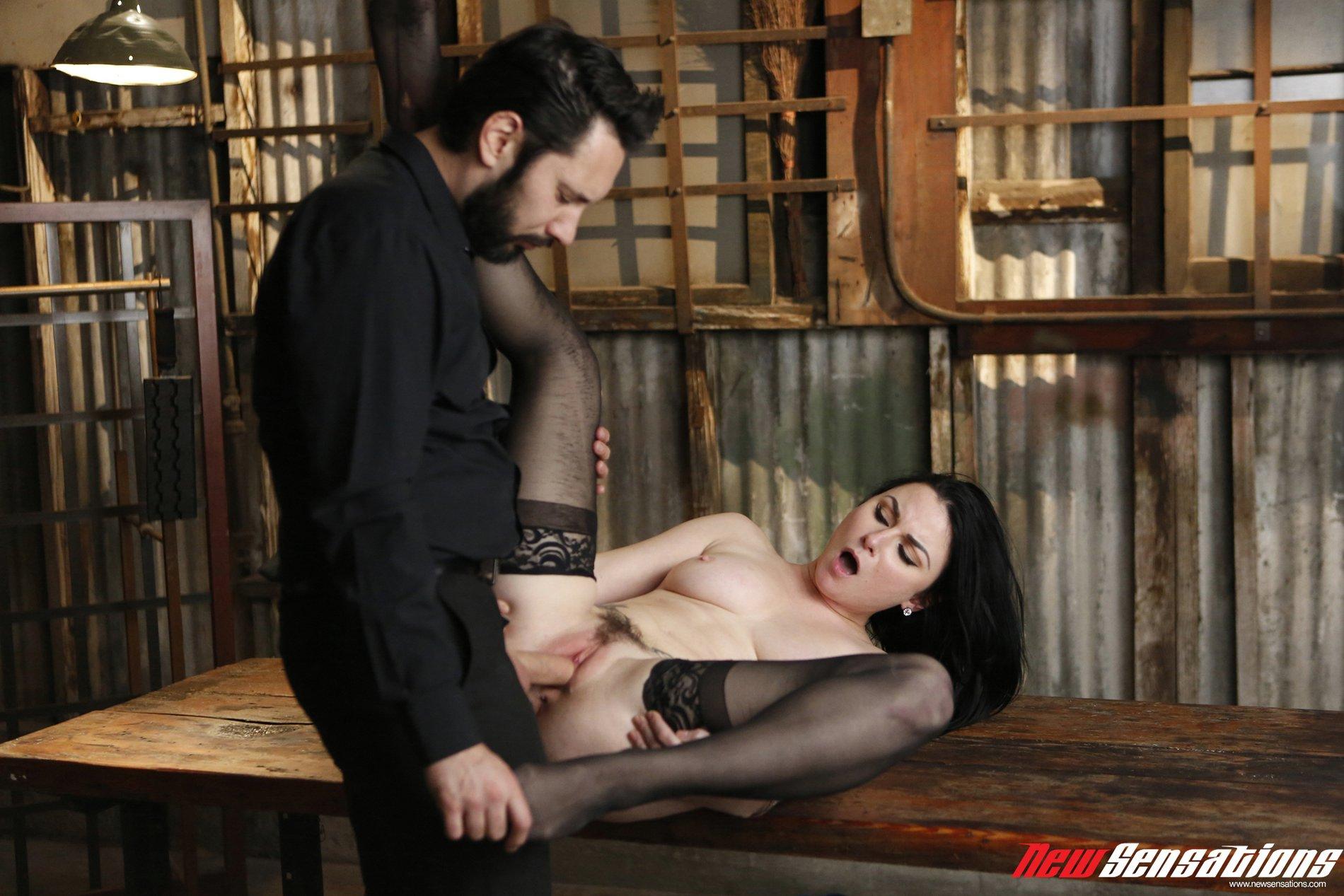 Tied up veruca james enjoys hardcore pleasures 7