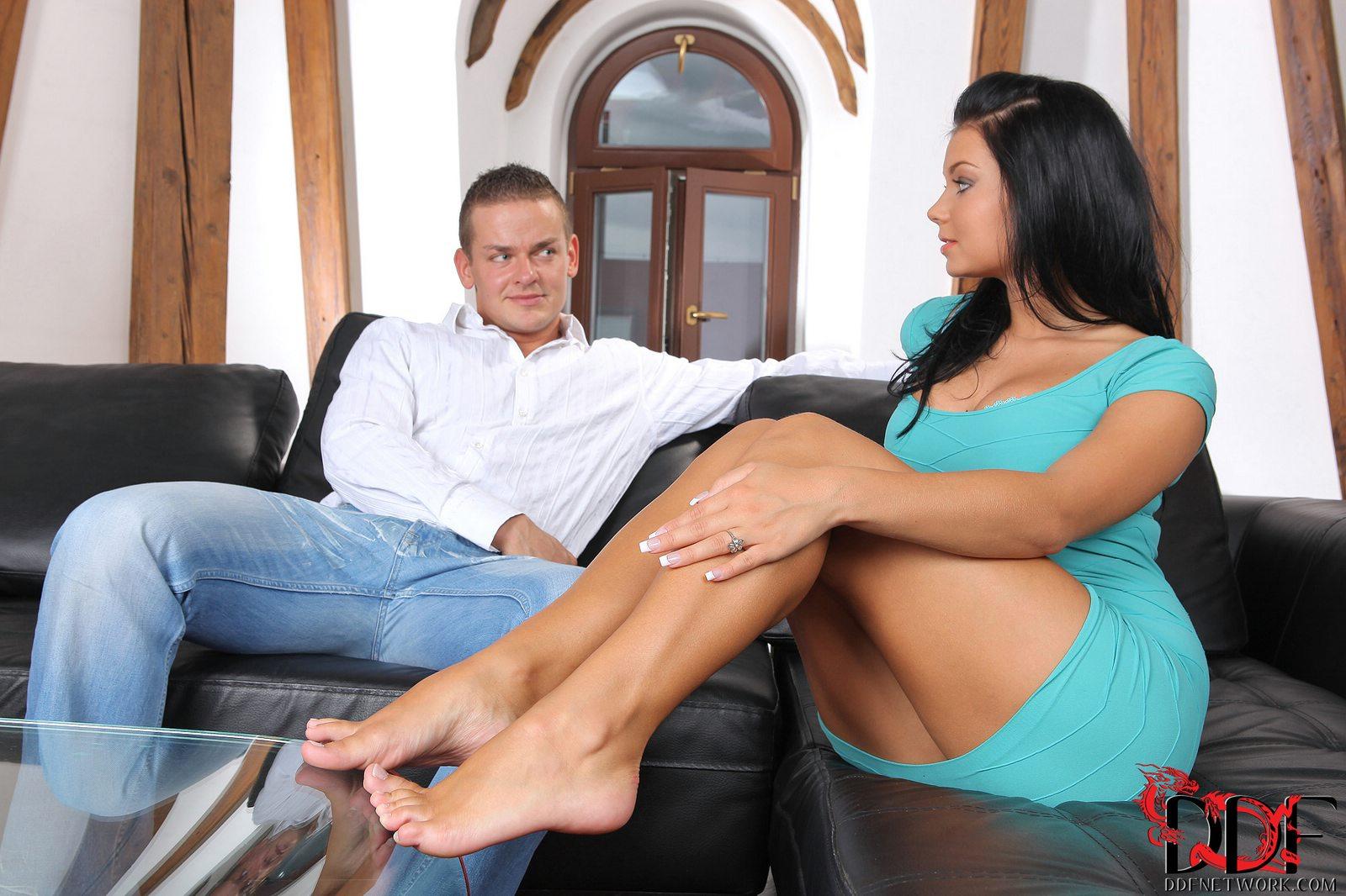 Pornstars foot fucking #7