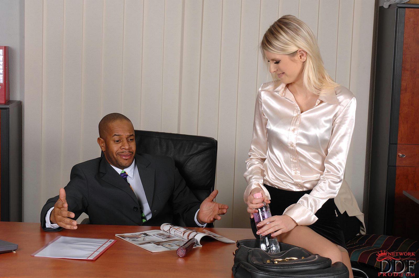 Boss Seduces His Secretary