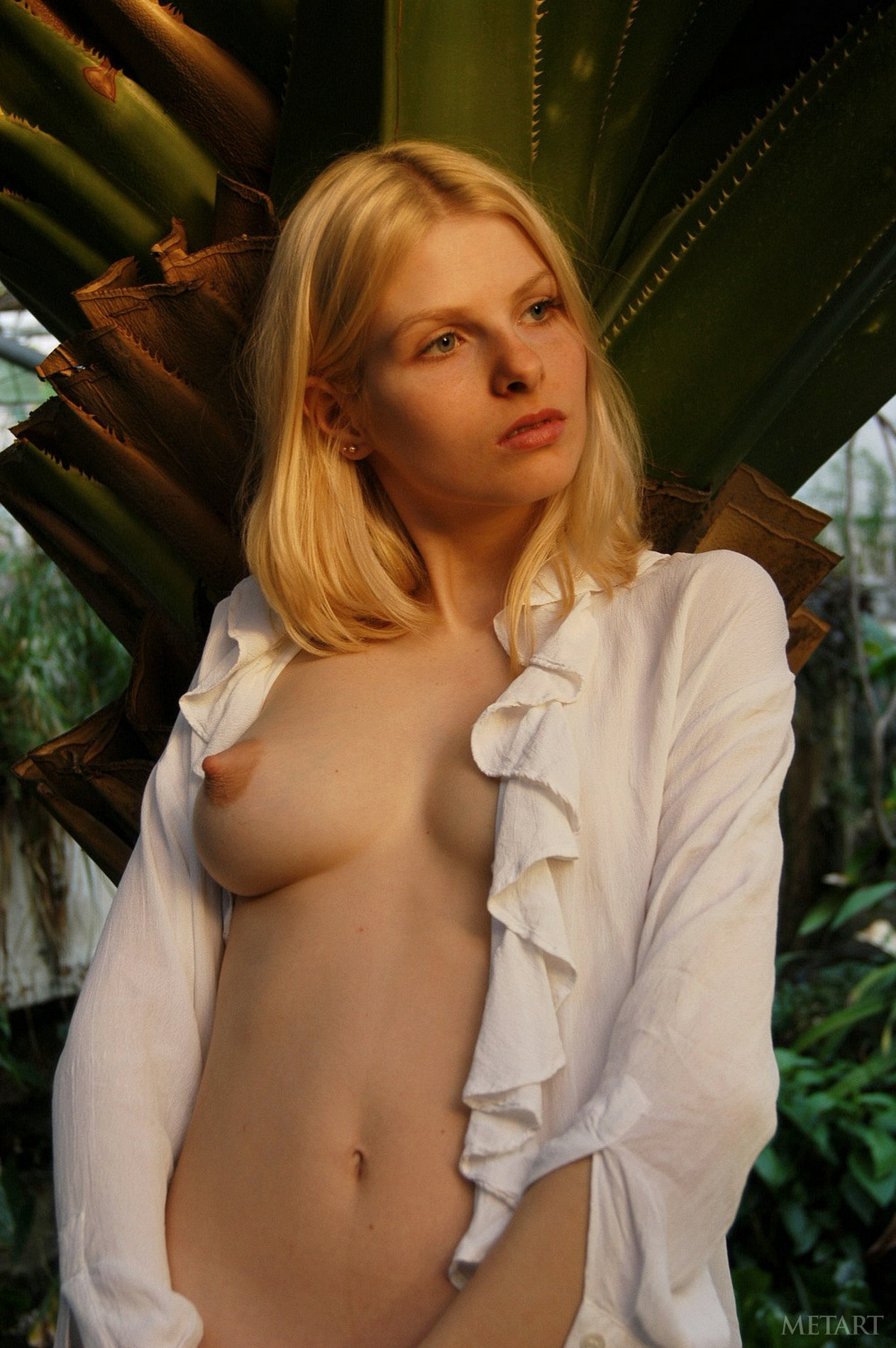 Young Blonde Wiska Poses For The Camera - My Pornstar Book-4135
